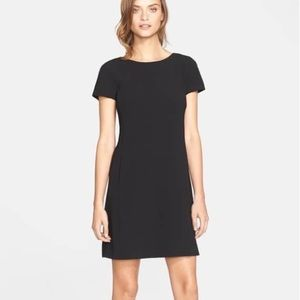 Theory Jamelya Crepe Shift Dress